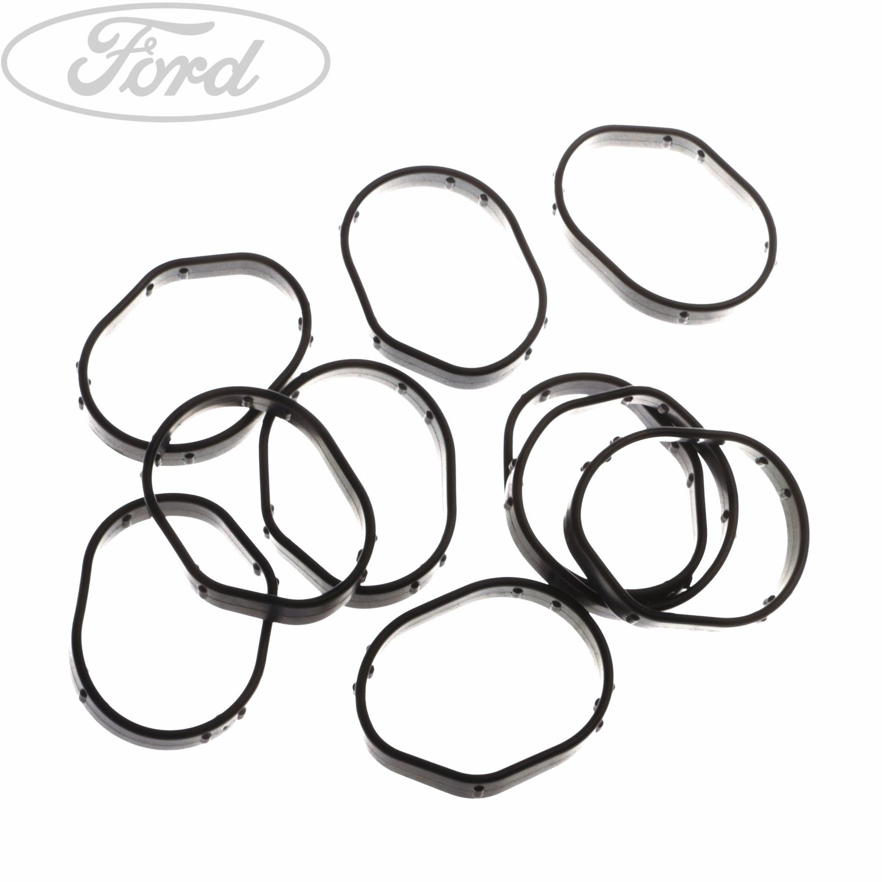 Genuine ford timing gear cover gasket x10 1816352