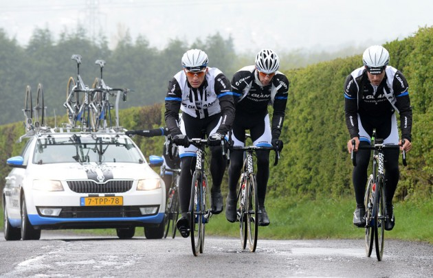 "Kittel, Timmer & De Backer on ""Jawbone"" Cote de Oughtibridge."