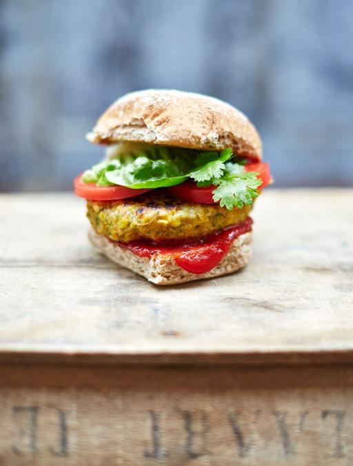 Veggie and Vegan burger