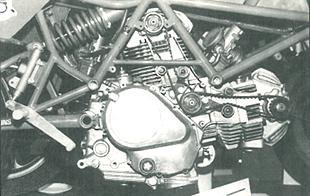 Ducati Desmo motorcycle engine