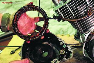 Honda CB750K2 engine overhaul