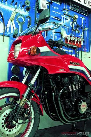 Kawasaki GPZ100 motorcycle road test