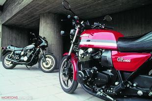 Kawasaki GPZ1100 road test