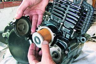Yamaha XT500 Japanese motorcycle engine rebuild
