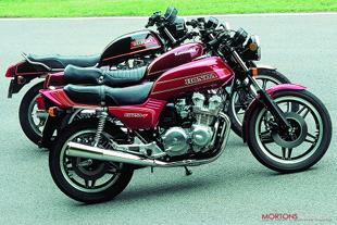 Japanese 750cc four cylinder motorcycle group test