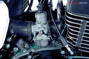 Yamaha RD400 engine