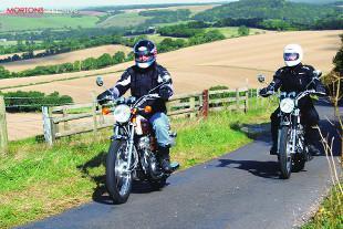 Yamaha 650 XS1 motorcycle
