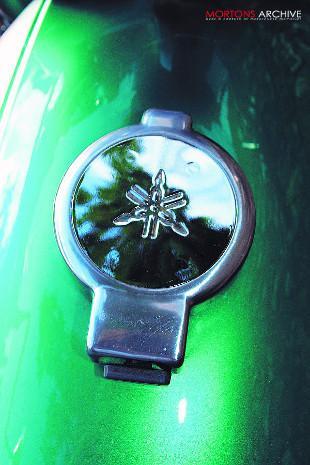 Yamaha XS1 petrol tank filler cap
