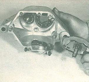 Norton motorcycle gearbox overhaul