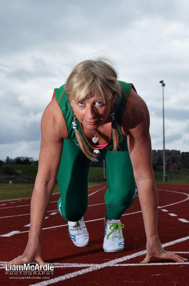 Triple Silver Medallist Geraldine Finegan. 13/04/2012 Photo by Liam McArdle / Newry Democrat