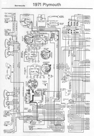 Dodge Challenger 1971 Misc Documents Wiring Diagrams PDF