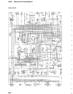 Mercedes G 240 Misc Documents Wiring Diagrams PDF