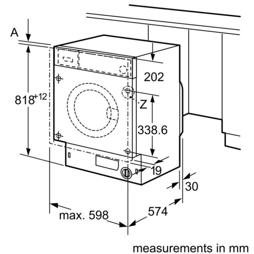 Buy Bosch Wiw Gb Integrated Washing Machine