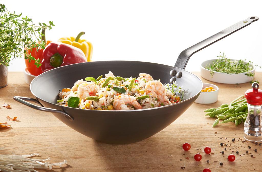 de buyer mineral b element pro iron wok
