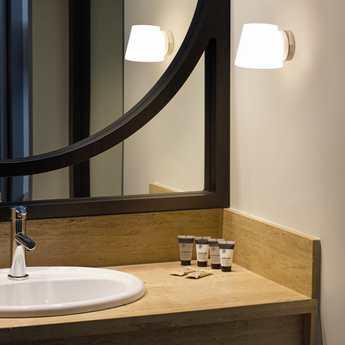 Wall Light Bathroom Bianca Chrome Ip44 L12 3cm H11cm Faro Nedgis Lighting