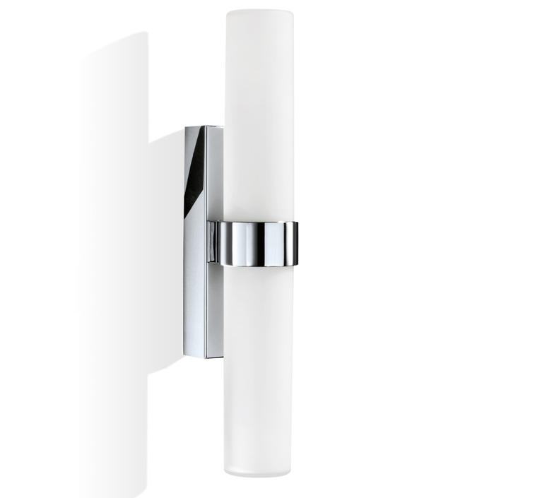 Wall Light Bathroom Metro 42 Chrome L12 5cm H42cm Decor Walther Nedgis Lighting