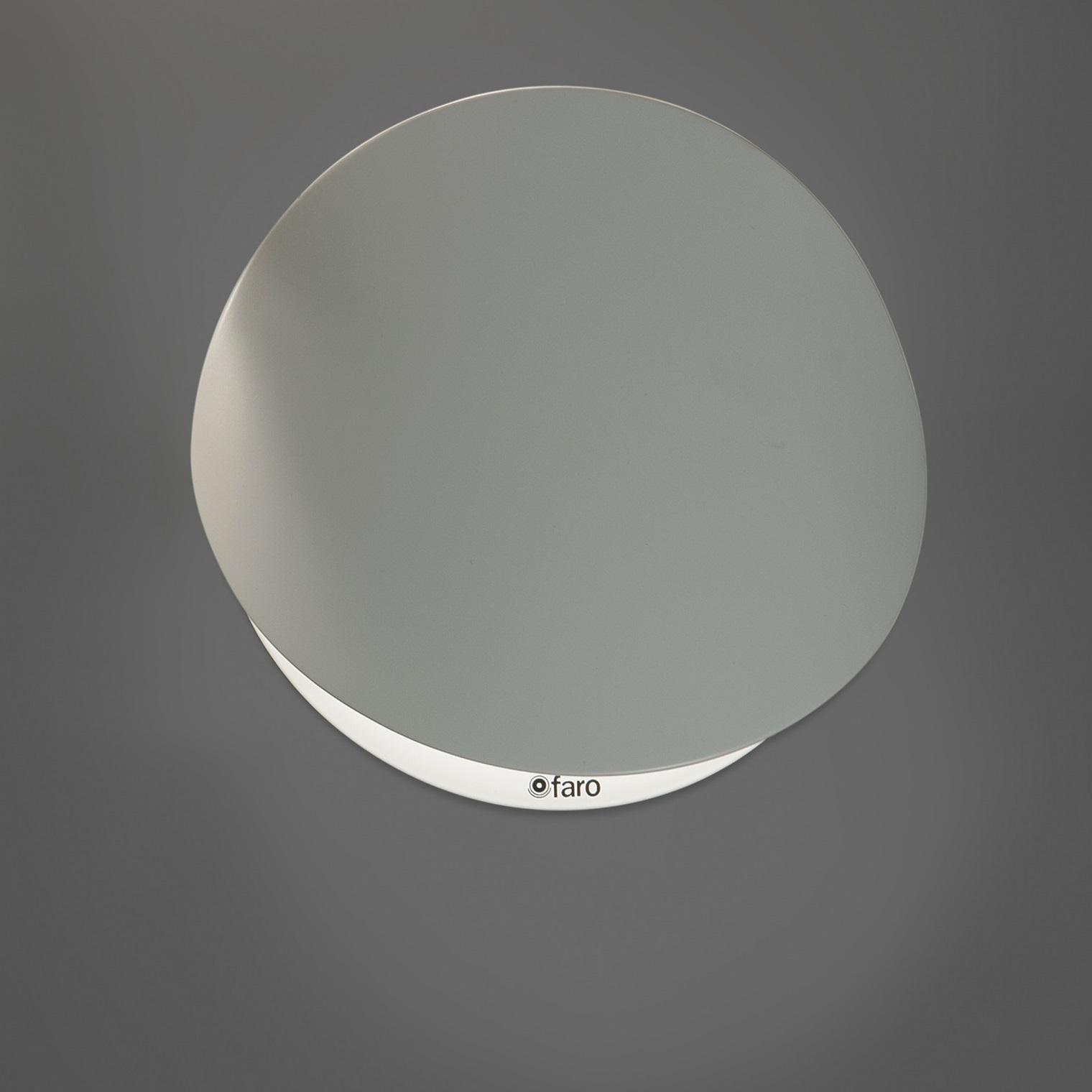 Applique Murale Ovo Blanc 19cm FARO Luminaires Nedgis