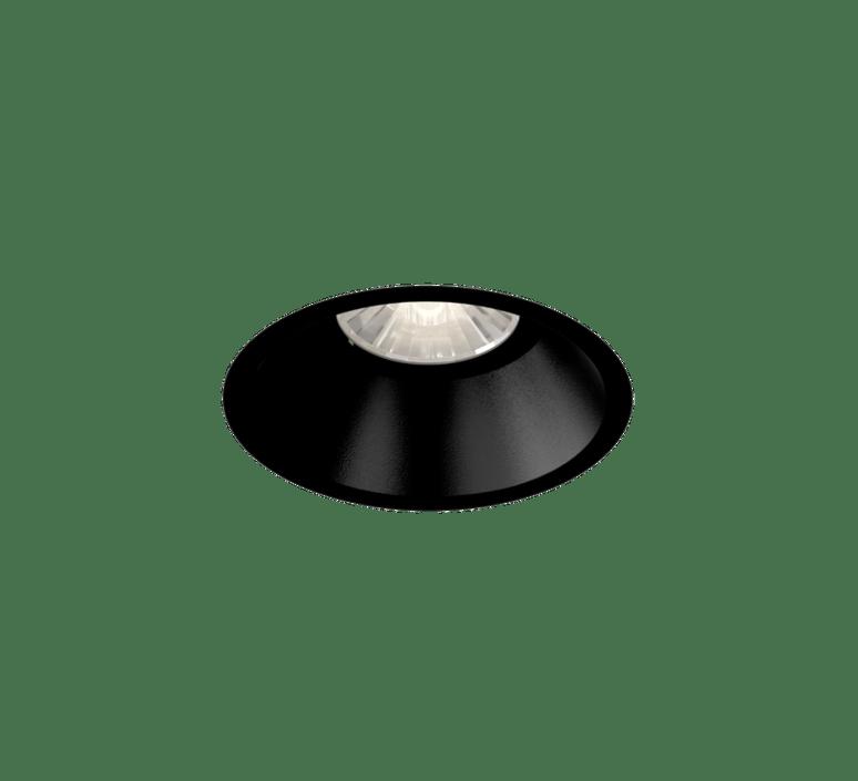 recessed light deep adjust 1 0 led black o9 4cm h8 5cm 3000k wever ducre
