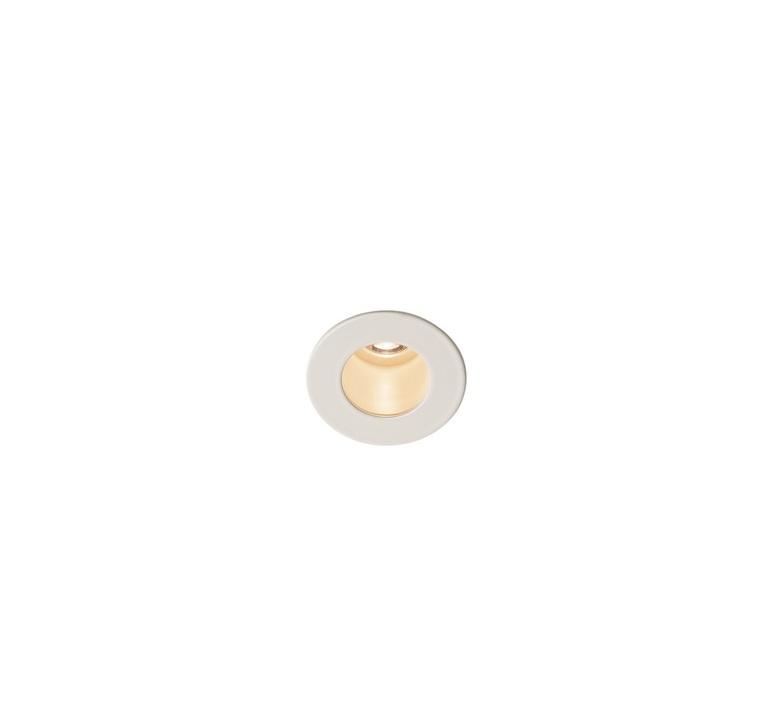 recessed light triton mini white led 3000k 70lm o4 5cm h5 4cm slv