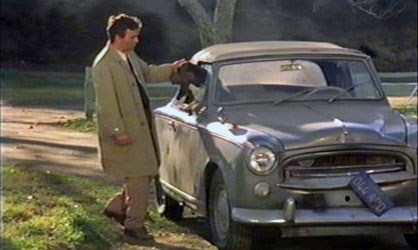 Columbo's_Car_1959_Peugeot_403_convertible