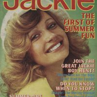 Jackie Thomson Magazine Jackie 50th Birthday