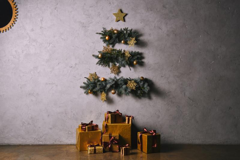 Come Realizzare Un Albero Di Natale Da Parete Fai Da Te Mania