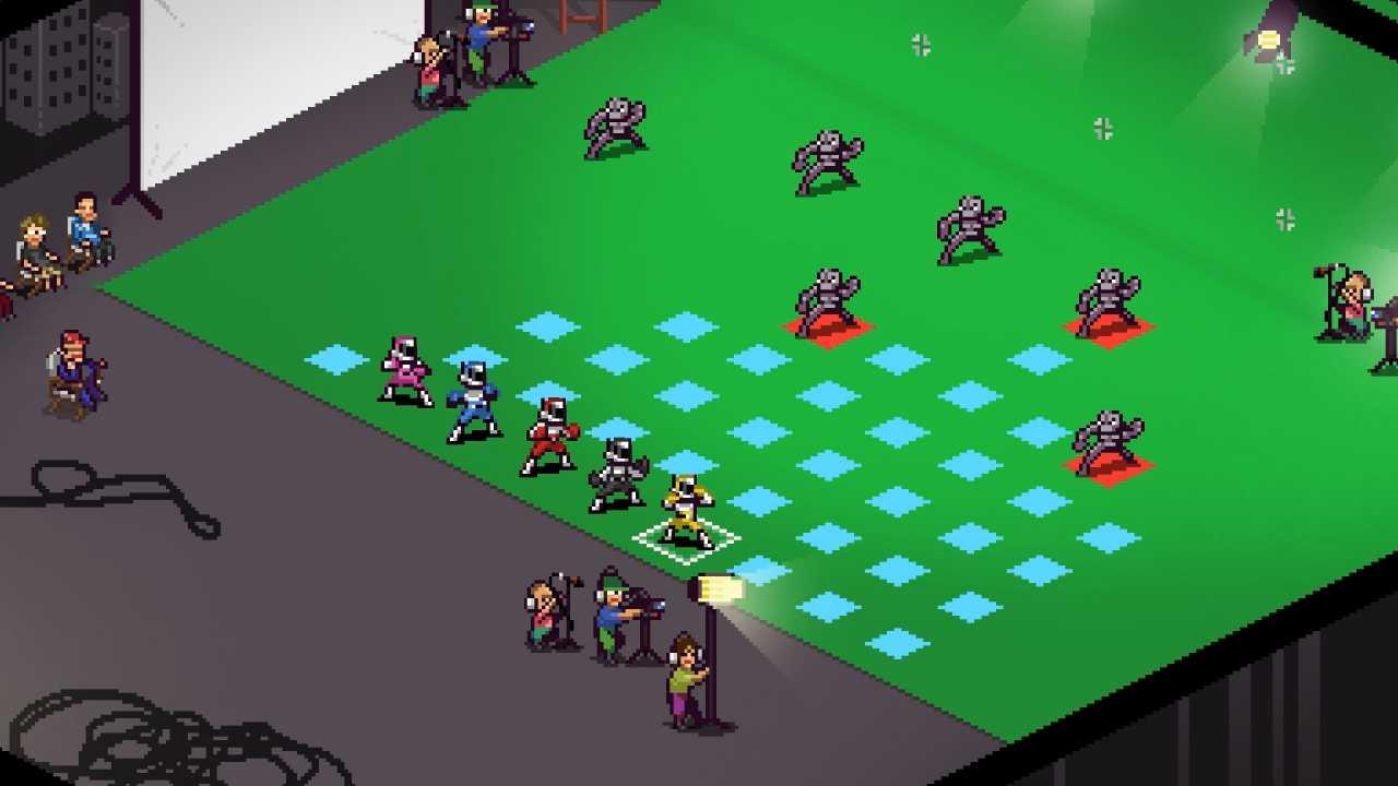 Chroma Pixel Squad Mecha Art