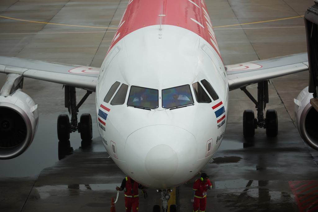 Фото: Самолет в международном аэропорту