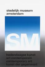 Wim Crouwel, 'Stedelijk Museum Amsterdam', 1971. Collectie Stedelijk Museum Amsterdam
