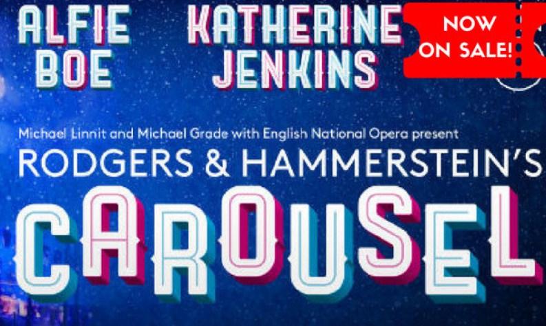 Alfie Boe & Katherine Jenkins star in ENO's Carousel: ON SALE