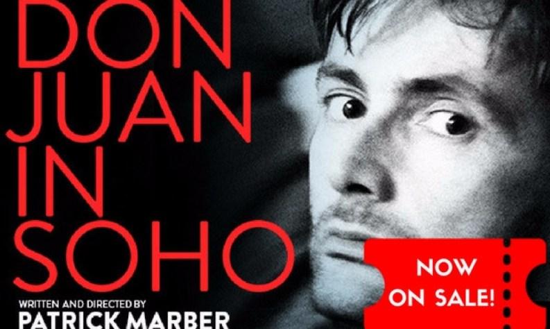 David Tennant stars in Marber's Don Juan in Soho in West End: ON SALE