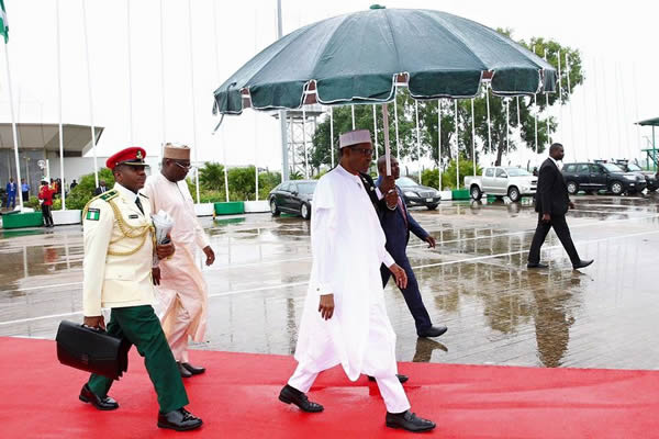 Buhari leaves for Kenya