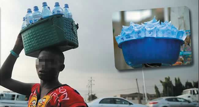Image result for bottle water lagos, traffic