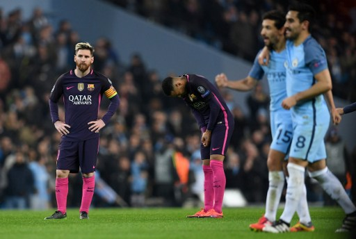 Image result for Man city 3-1 barcelona