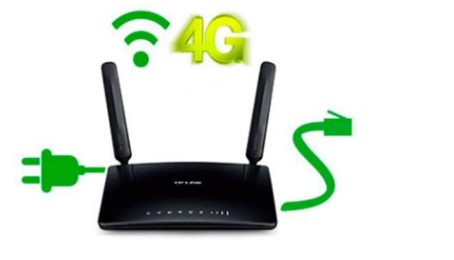 Router WIFI 4G Amena
