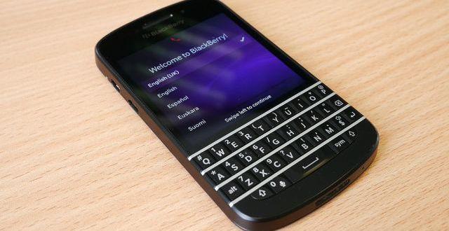 Censure de Blackberry au Pakistan à partir de décembre 2015