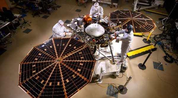 La NASA annule le lancement du vaisseau InSight de mars 2016 vers la planète Mars