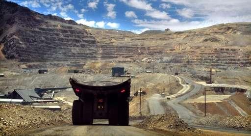 De l'arsenic de mines chiliennes trouvé dans l'Antarctique