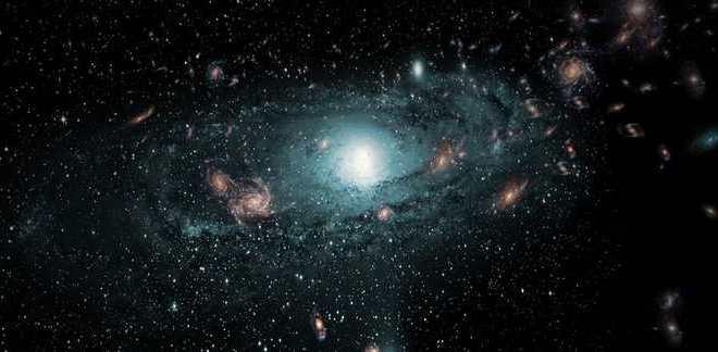 Découverte de centaines de galaxies cachées par la Voie lactée