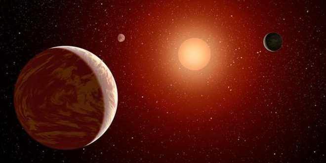 3 exoplanètes autour d'une étoile voisine pourraient abriter de la vie