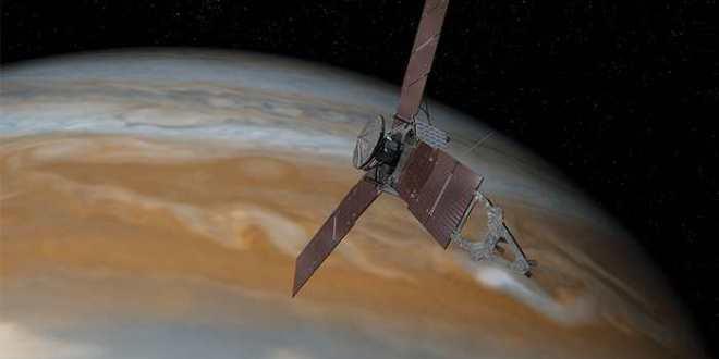 Juno s'approche de Jupiter, le roi du système solaire