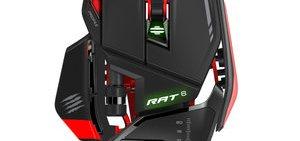 La gamme de souris pour Gaming Mad Catz R.A.T vous propose des performances spectaculaires avec ses boutons programmables et sa réactivité sans failles.