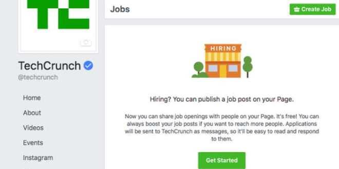 Facebook part à l'assaut de Linkedin avec des annonces d'emploi
