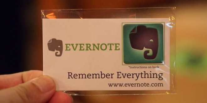 Evernote lira vos notes sous le prétexte du Machine Learning