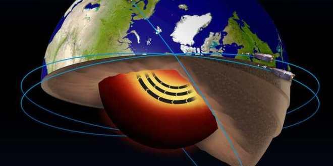 Découverte d'un jet-stream dans le noyau de la Terre