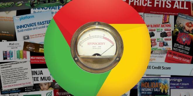 Google envisage de bloquer les publicités dans Chrome