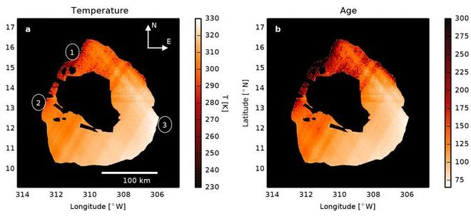 Des vagues de lave sur la lune Io de Jupiter