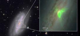 Derrière le voile d'un trou noir supermassif