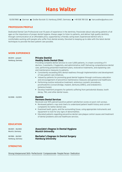 Healthcare Resume Samples From Real Professionals Who Got
