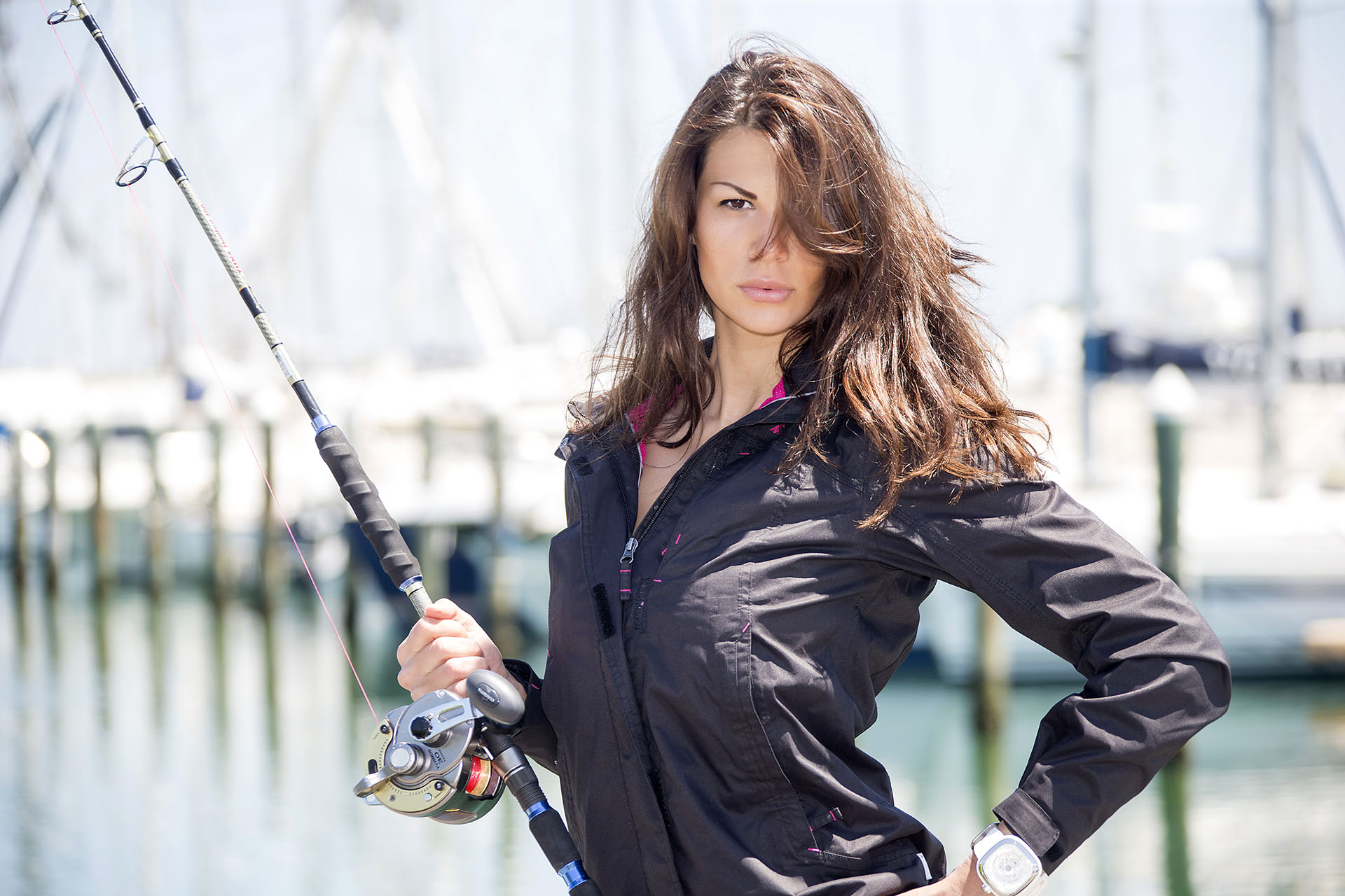 Maria Elena Monego Fishing Beauty - Photo: © Andrea Pisapia / Spazio Orti 14